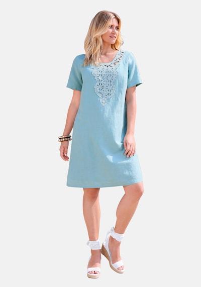 Anna Aura Sommerkleid in blau, Modelansicht