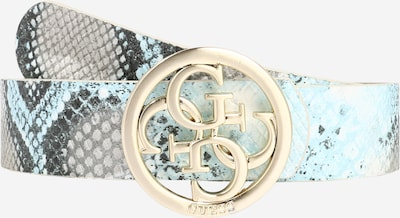 GUESS Belt 'Albury' in Sky blue / Gold / Black / White, Item view