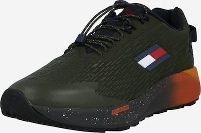 Tommy Sport Sportschuh en navy / dunkelgrün / rot / weiß, Vue avec produit