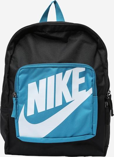 Nike Sportswear Backpack in Sky blue / Black / White, Item view
