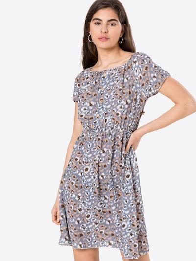Sublevel Kleid in taubenblau / mischfarben, Modelansicht