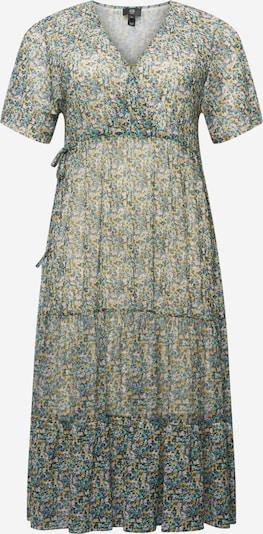 River Island Plus Kleid in gelb / petrol / puder / schwarz, Produktansicht