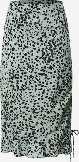 Missguided Rock in pastellgrün / schwarz, Produktansicht