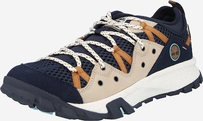 TIMBERLAND Zemie brīvā laika apavi 'Garrison', krāsa - tumši zils / gaiši brūns / pūderis, Preces skats