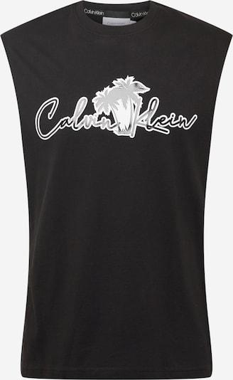 Calvin Klein Tričko - černá / bílá, Produkt