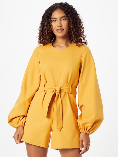 KAN Jumpsuit 'MELIA' in hellorange, Modelansicht