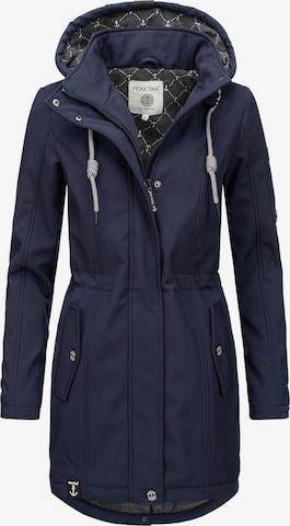 Peak Time Raincoat in Blue