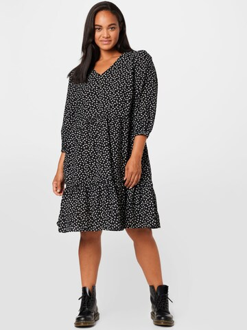 KAFFE CURVE Dress 'KCenna' in Black