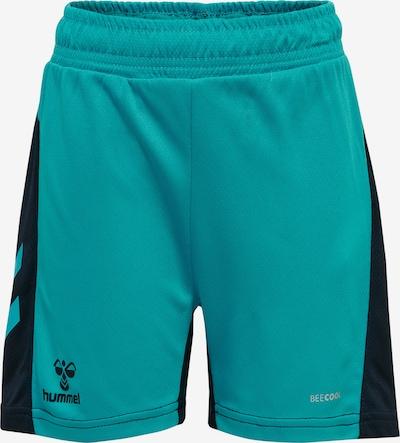 Hummel Sporthose in türkis / dunkelblau, Produktansicht