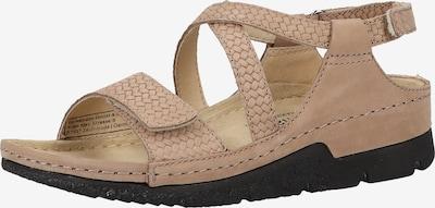 BERKEMANN Sandalen in beige, Produktansicht