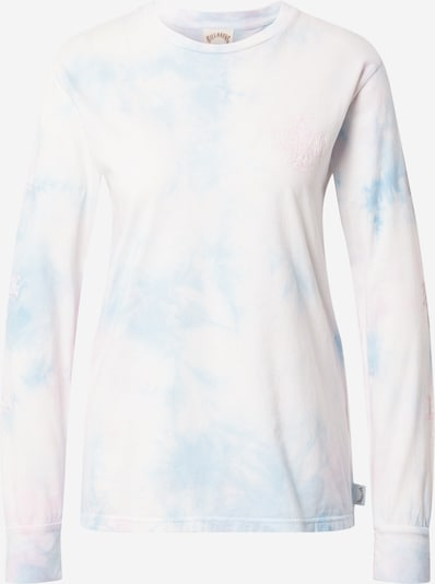 BILLABONG Koszulka funkcyjna w kolorze jasnoniebieski / pastelowy róż / białym, Podgląd produktu