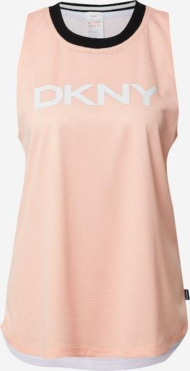 DKNY Performance Haut en orange / pêche / noir / blanc, Vue avec produit