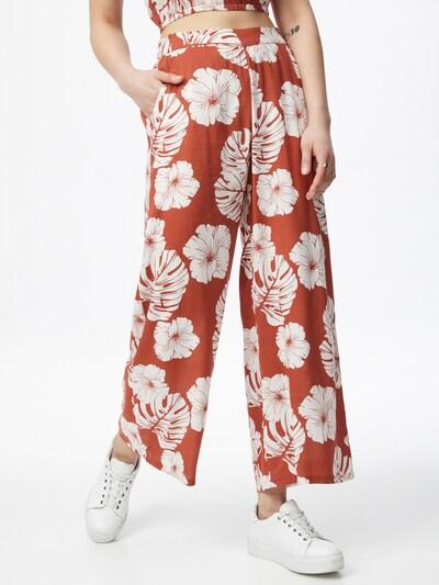 ROXY Housut 'MIDNIGHT AVENUE' värissä punainen / valkoinen, Mallinäkymä