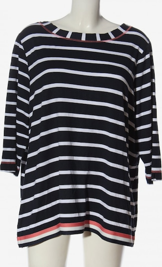 Steilmann Langarm-Bluse in 5XL in schwarz / weiß, Produktansicht