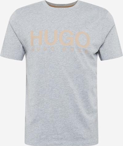 HUGO Shirt 'Dolive204' in brown / grey, Item view