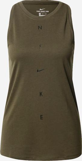 NIKE Sportovní top - khaki, Produkt