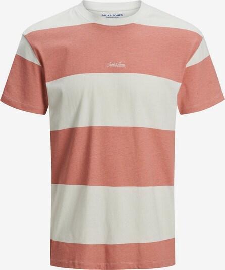 JACK & JONES Shirt in Zalm roze / Wit hvYg45MV