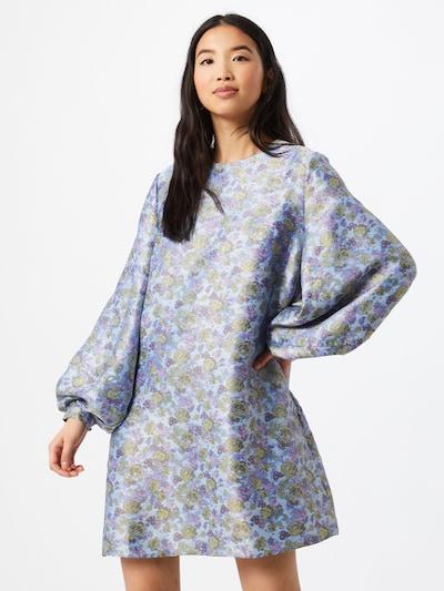 Samsoe Samsoe Kleid 'Aram' in hellblau / hellgrün / lila, Modelansicht