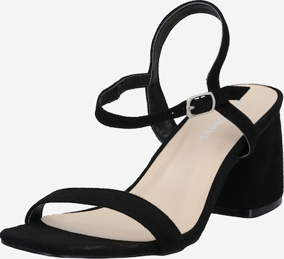 GLAMOROUS Strap sandal in Black, Item view