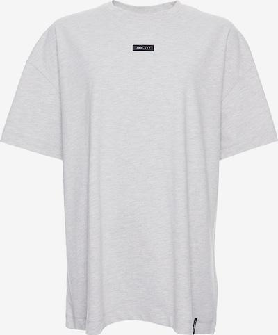 Superdry T-shirt oversize en gris clair, Vue avec produit