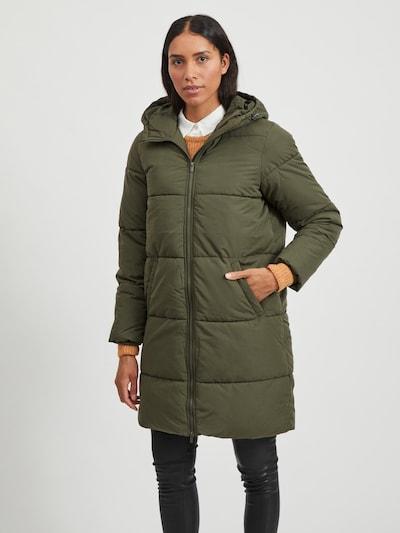 VILA Mantel in khaki, Modelansicht