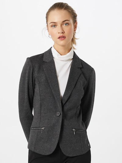 TOM TAILOR DENIM Blazer in grau, Modelansicht