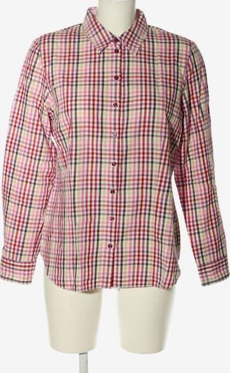 ERFO Hemd-Bluse in L in pink / schwarz / wollweiß, Produktansicht