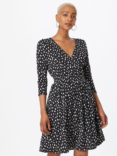 ONLY Klänning 'PELLA' i svart / vit, På modell