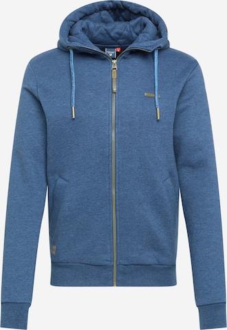 Veste de survêtement 'NATE' Ragwear en bleu