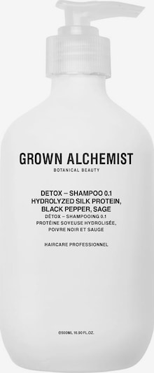 Grown Alchemist Shampoo '0.1 Detox' in weiß, Produktansicht