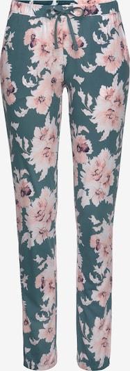 VIVANCE Pyžamové nohavice - nefritová / ružová, Produkt
