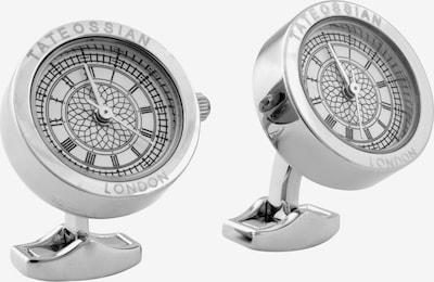 Tateossian London Manchetknopen in de kleur Zilver, Productweergave