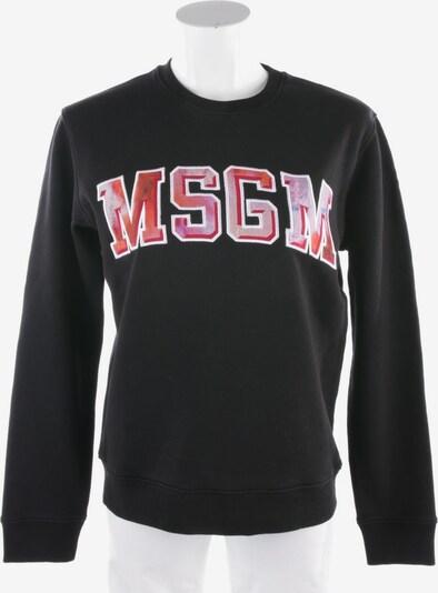 MSGM Sweatshirt / Sweatjacke in XS in schwarz, Produktansicht