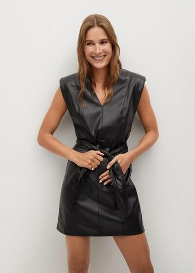 MANGO Kleid 'Laila' in schwarz, Modelansicht