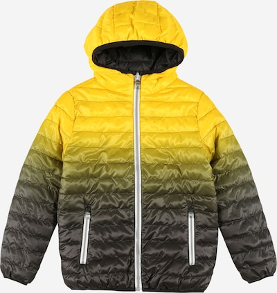 OVS Jacke 'ULTRALIGHT' in gelb / grün / schwarz, Produktansicht