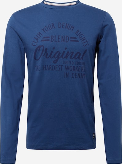 BLEND T-shirt i blå, Produktvy