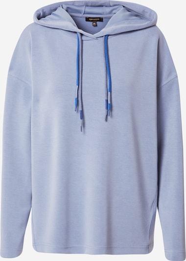 Bluză de molton MORE & MORE pe albastru fumuriu, Vizualizare produs