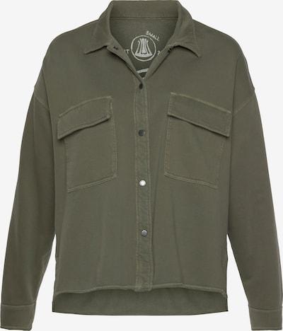 Herrlicher Sweatshirt in khaki, Produktansicht