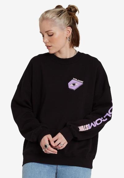 Volcom Sweatshirt 'Mentrip' in pastellblau / pastelllila / schwarz, Produktansicht