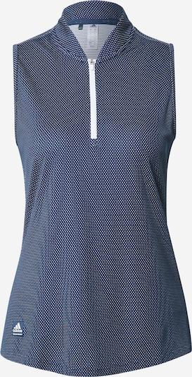 adidas Golf Haut de sport en bleu marine / blanc, Vue avec produit