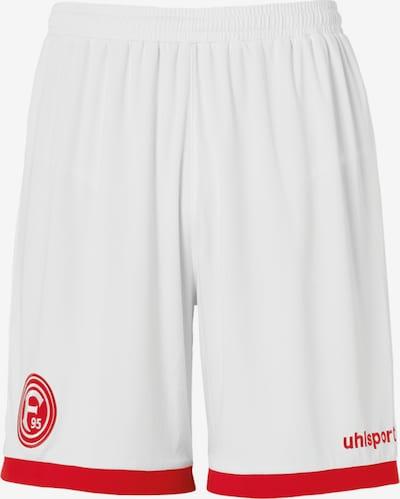 UHLSPORT Hose in rot / weiß, Produktansicht