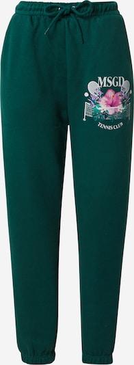 Missguided Pantalon en vert / mélange de couleurs, Vue avec produit