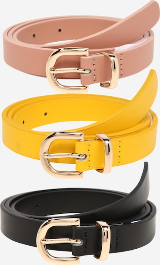 ABOUT YOU Belt 'Malina' in brown / yellow / black, Item view