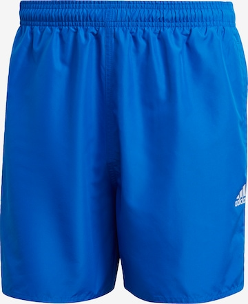 ADIDAS PERFORMANCE Swimming Trunks in Blue
