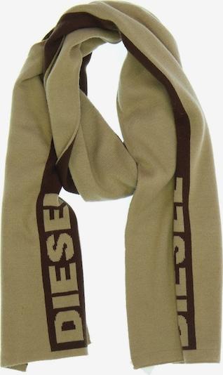 DIESEL Schal in One Size in beige / braun, Produktansicht