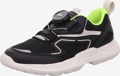SUPERFIT Sneaker 'Rush' in neongrün / schwarz / weiß, Produktansicht
