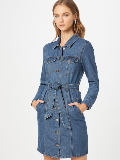 JDY Košeľové šaty 'SANSA' - modrá denim, Model/-ka