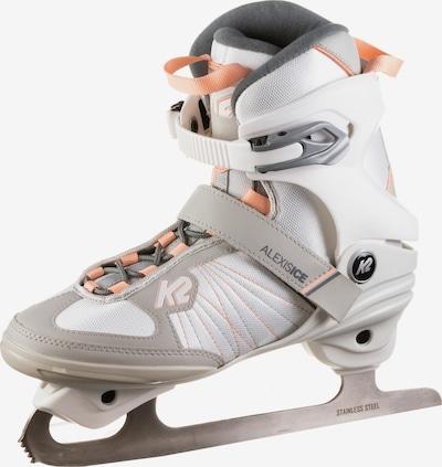 K2 Schlittschuhe 'Alexis Ice FB' in grau / orange / weiß, Produktansicht