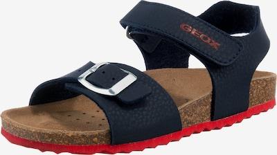 GEOX Sandalen 'GHITA' in dunkelblau, Produktansicht