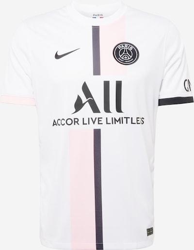 NIKE Maillot 'Paris Saint-Germain 2021/22 Stadium Away' en rose pastel / noir / blanc, Vue avec produit